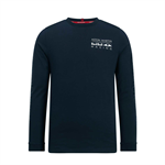 Aston Martin Red Bull Racing Mens Longsleeve T-Shirt Navy