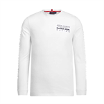 Aston Martin Red Bull Racing Mens Longsleeve T-Shirt White