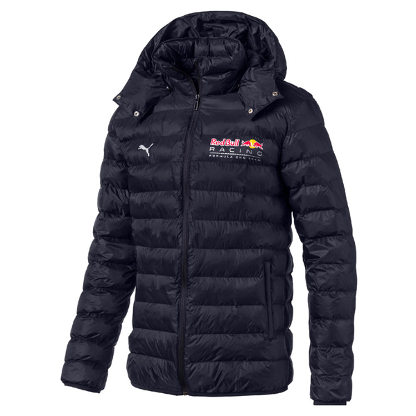 Red Bull Racing F1 Puma Mens Jacket Quilted Padded