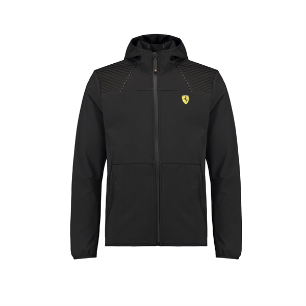 Ferrari F1 Team Mens SF Softshell Jacket Black