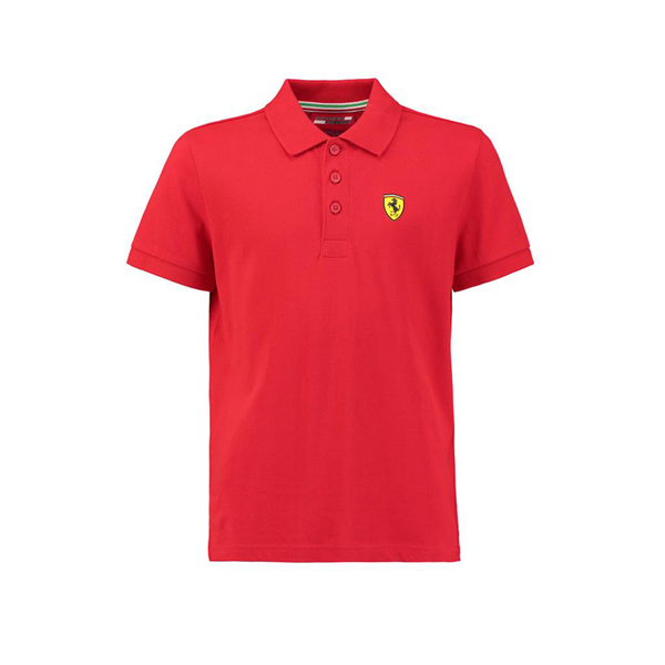 Polo Scuderia Ferrari Classic Men's Red