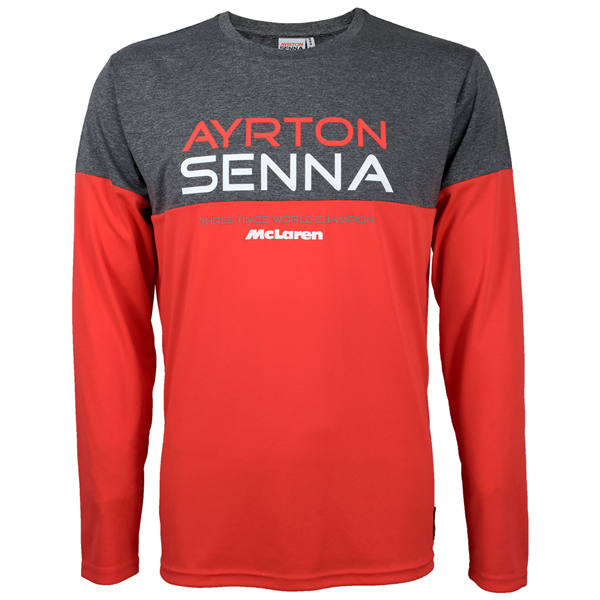 Ayrton Senna and McLaren co-branded T-Shirt