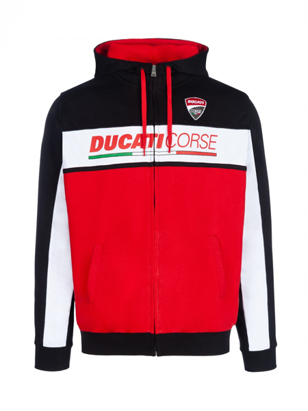 Hoodie Ducati Corse, Collection 2018