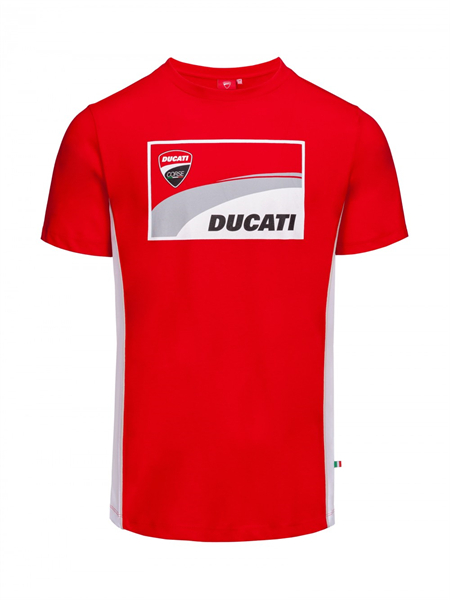 T-shirt Ducati Corse, Official Apparel.