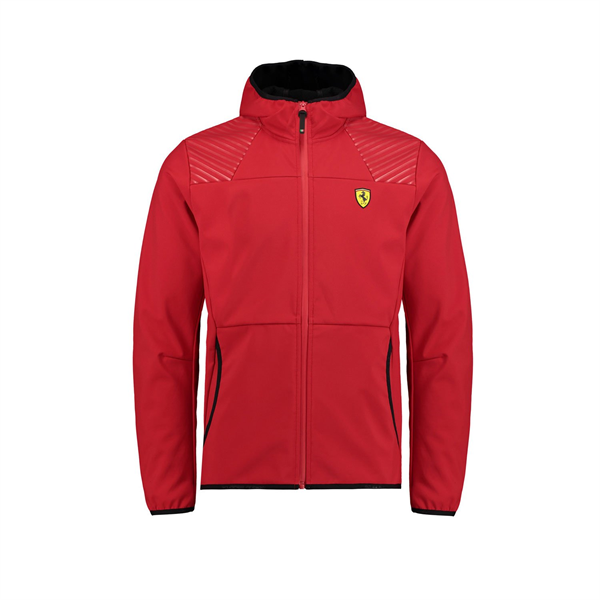 Ferrari F1 Fanwear Mens SF Softshell Jacket Red