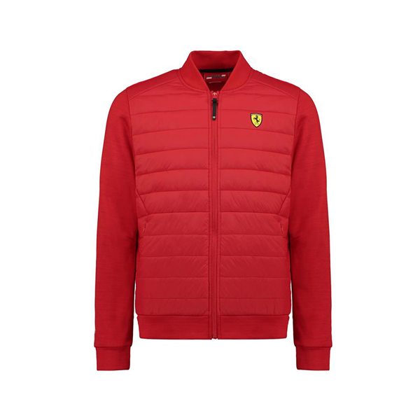 Scuderia Ferrari F1 Team Hybrid Jacket Red